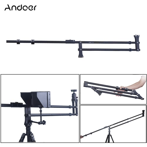 Andoer VS-200 6.0ft Foldable ExtendablePhotography Crane Jib Arm