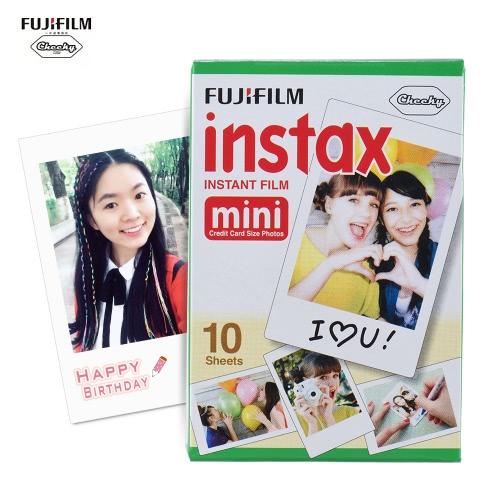 Fujifilm Instax Mini 10 Sheets White Film Photo Paper Snapshot Album Instant Print for Fujifilm Instax Mini 7s/8/25/90