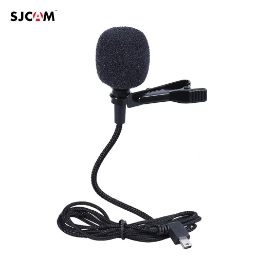 SJCAM External Clip-on External Mic Microphone for SJCAM SJ6/SJ7/SJ360 Sports Panoramic Camera Action Cam