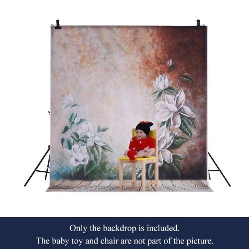 1,5 * 2m / 4,9 * Tło 6.5ft Fotografia tle Komputer Drukowane Kwiat Wzorzec dla dzieci Kid Dziecko Noworodek Pet zdjęcie portret studio fotografowania