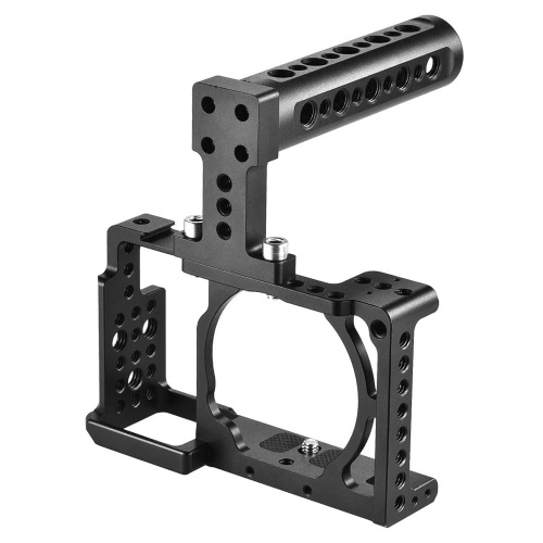 Andoer Protective Video Camera Cage + Top Handle Kit