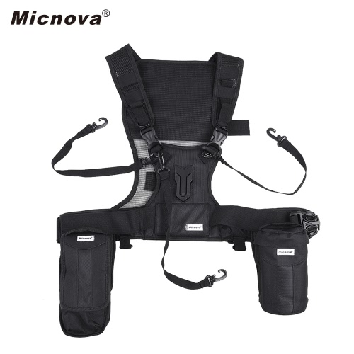 Micnova MQ-MSP07 multi-caméra de photographie en plein air portant gilet