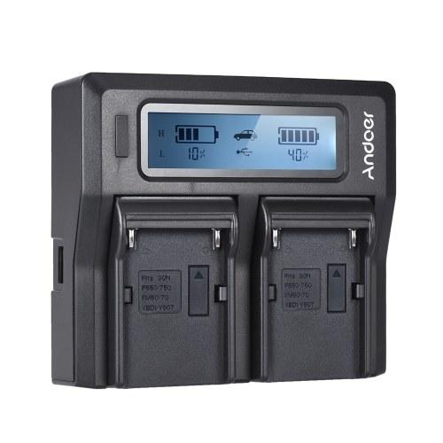 Pantalla LCD para cargador de batería