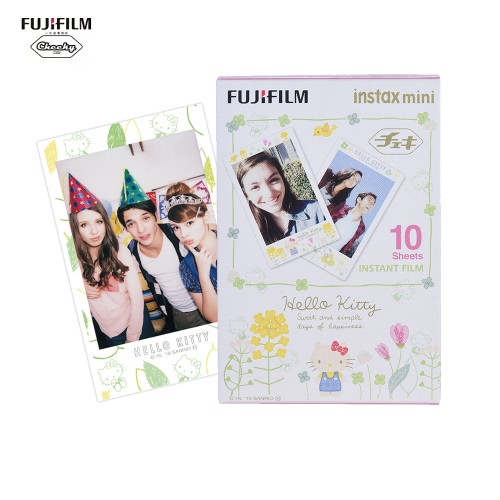 Fujifilm Instax Mini 10 feuilles Hello Kitty KT Sketch Film Papier photo Impression instantanée pour Fujifilm Instax Mini7s / 8/25 / 50s / 70/90 Imprimante SP-1 / SP-2 Smartphone