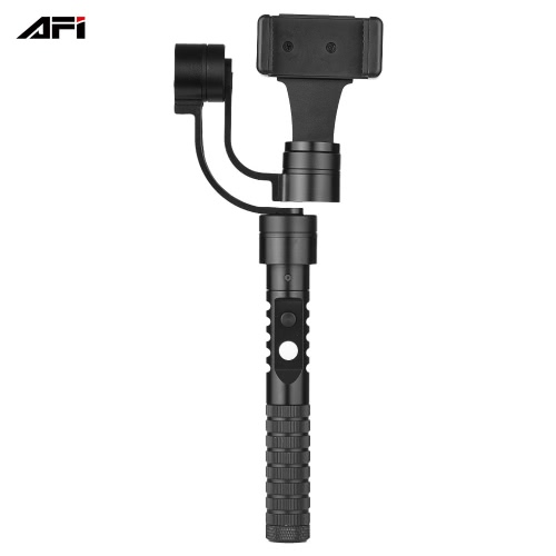 "AFI V2 3-Axis Handheld Smartphone Gimbal Brushless Gyro Estabilizador para iPhone Sumsung Huawei Xiaomi 3.5 ""-5.5"" Smartphones"