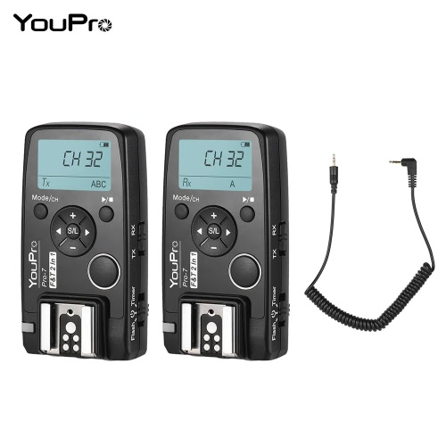 YouPro Pro-7 Wireless Shutter Timer Remote and Flash Trigger