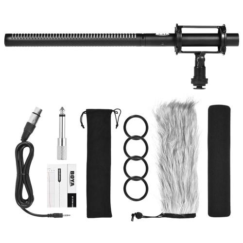 Micrófono de condensador profesional BOYA BY-PVM1000L