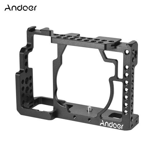 Andoer Aluminum Alloy Camera Cage + Najwyższa rękojeść + zestaw 15-metrowy zestaw podstawy