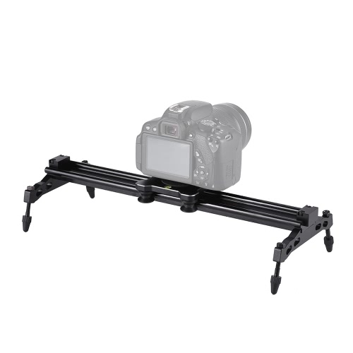 Andoer 40cm / 15.7in Lagertyp Kamera Track Dolly Slider