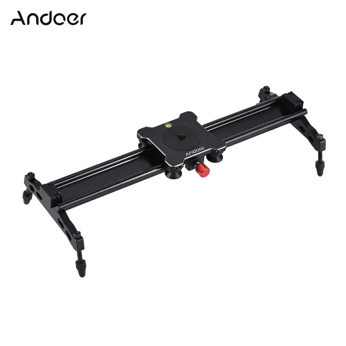 Andoer 40cm / 15.7in Type de roulement Caméra Track Dolly Slider