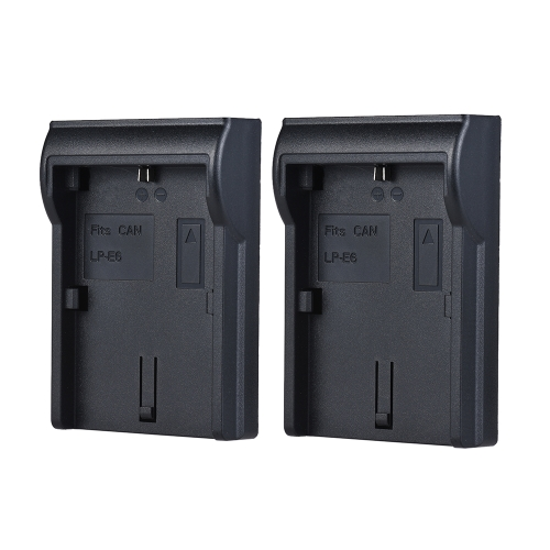 2pcs LP-E6 Battery Plate
