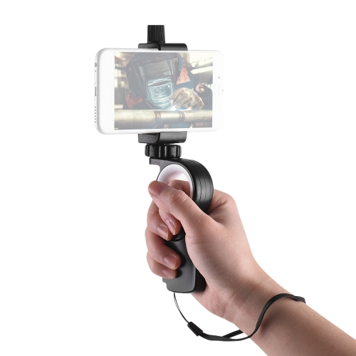 【Sin Trípode】 Andoer HC1 Smartphone Acción Cámara Hand Grip Stand Handle Holder Stabilizer