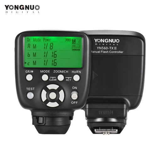 YONGNUO YN560-TX II Manual Remote Controller de disparo por destello
