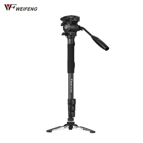 Weifeng WF-3958M Profesjonalny przenośny aparat ze stopu aluminium Monopod