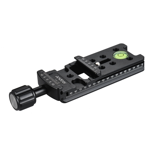 Andoer FNR-100 100mm Quick Release Plate Tripod Nodal