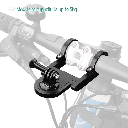 Andoer Aluminum Alloy Gimbal Camera Support Bracket Bike Mount Holder