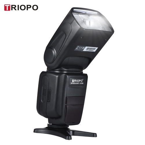TRIOPO G1500 2.4G HSS 1 / 8000s GN58 TTL Drahtloses Master Slave Blitz Speedlite