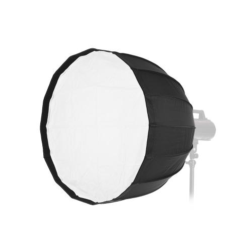 70cm 16 Rods Portable Deep Parabolic Umbrella Softbox