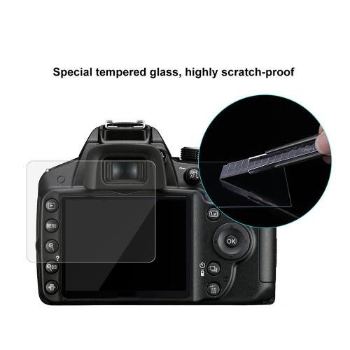 puluz camera screen protective films polycarbonate protect film for nikon nikon d3200/d3300