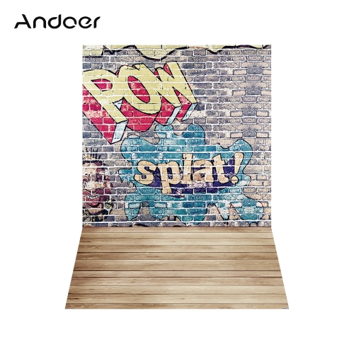 Andoer 1.5 * 2.1 m / 5 * 7ft Street Graffiti photographie fond
