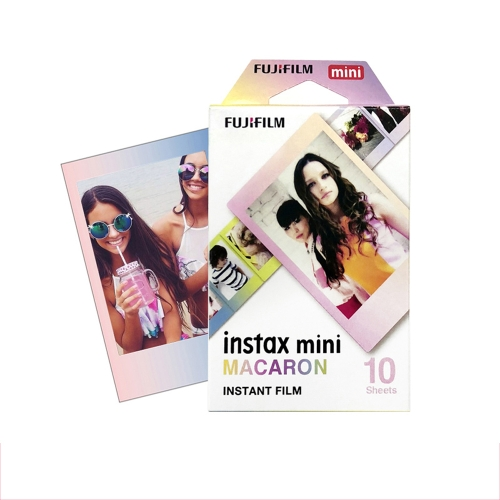 Fuji Polaroid Instant Photo Camera Papel Mini7s 8 25 50 90 Film Monocromo