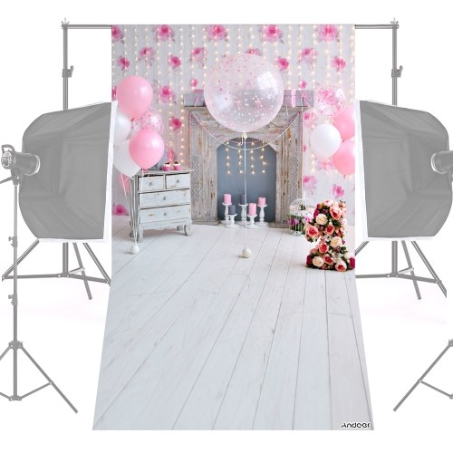Andoer 1.5 * 0.9m / 5 * 3ft Backdrop Photo Studio Pros