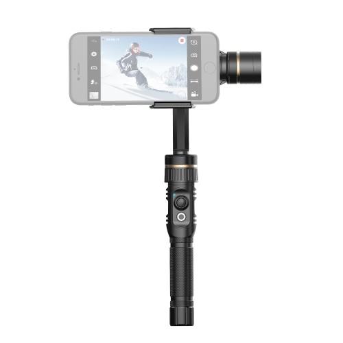 Hohem BUFF 3-Axis Handheld Smartphone Gimbal Liga de Alumínio Estabilizador