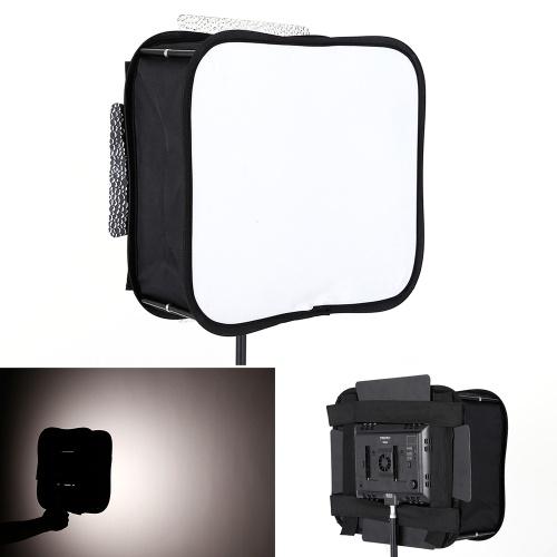 SB600 Estúdio Dobrável Softbox Difusor para YONGNUO YN600 YN600L II YN600S YN600RGB YN600AIR YN900 LED Painel de Luz de Vídeo & Tamanho Semelhante