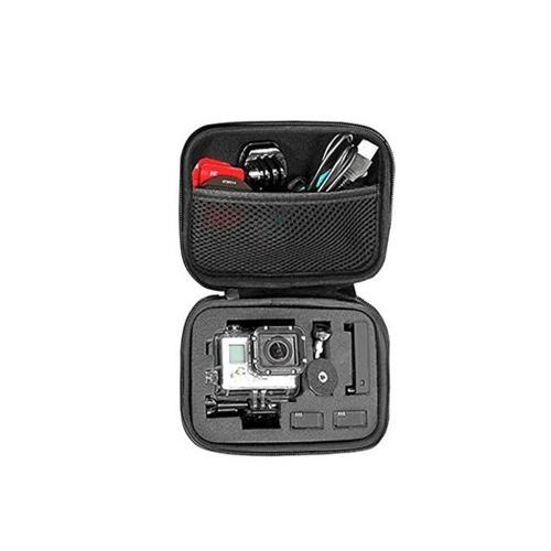 Tragbare optionale Größe Anti-Schock-Aufbewahrungstasche für Sport Cam Gopro Zubehör schwarz Kameratasche