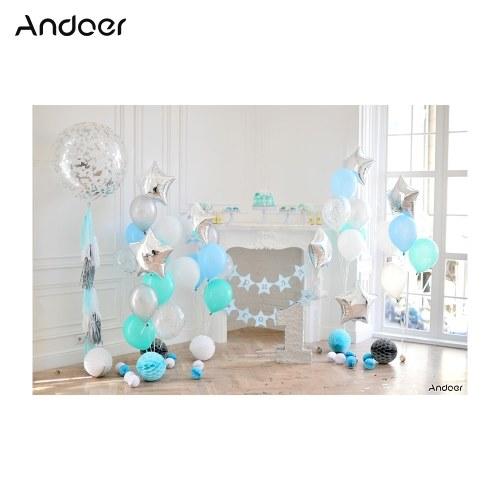 Andoer 2.1 * 1.5m / 7 * 5ft Фотография фона Baby Kids Photo Studio Pros фото