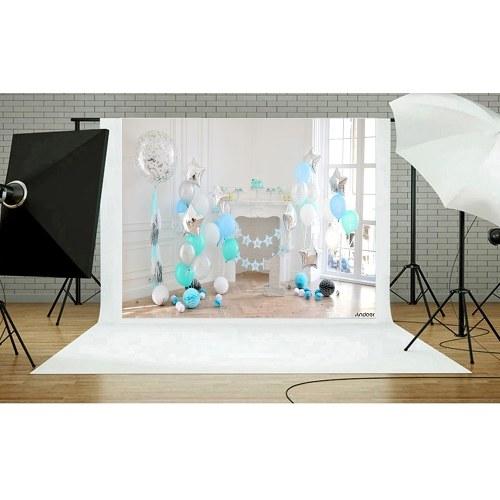 Andoer 2.1 * 1.5m/7 * 5ft Photography Background Baby Kids Photo Studio Pros