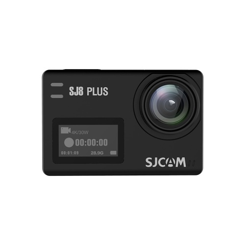 SJCAM SJ8 PLUS Action Camera 4K/30FPS 12MP Sports Cam Black Bare-metal Version