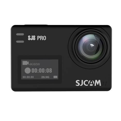 SJCAM SJ8 PRO Action Camera 4K/60FPS WiFi Sports Cam Black Bare-metal Version