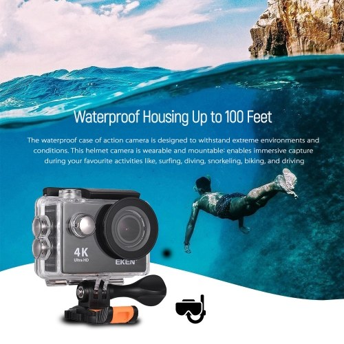 EKEN H9 Ultra HD 4K Action Camera WiFi Control Waterproof Sports Camera
