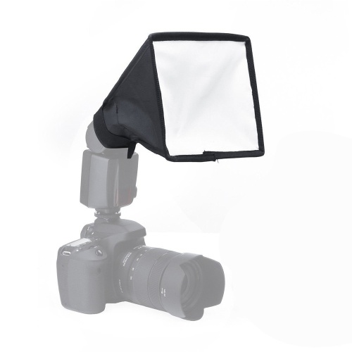 Bewegliche lichtdurchlässige faltende Softbox für DSLR Kameras Blitz Speedlite Softbox Diffusor 20 * 30/15 * 17 Zentimeter Portable Studio