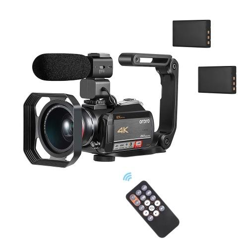 Videoregistratore digitale per videocamera digitale ORDRO AC5 4K WiFi