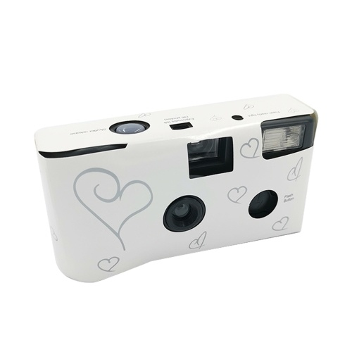 36 Photos Power Flash Single Use One Time Disposable Film Camera Party Gift
