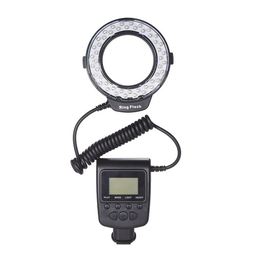 Luz do flash do anel do diodo emissor de luz da macro HD-130