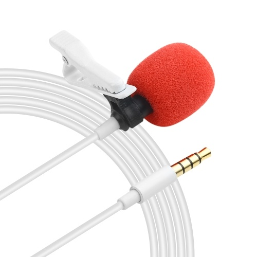 Professionelles omnidirektionales Lavalier-Aufsteckmikrofon