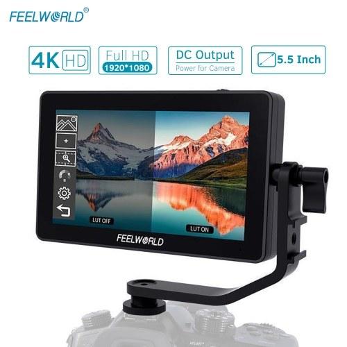 FEELWORLD F6 Plus 5.5インチオンカメラフィールドモニターキット