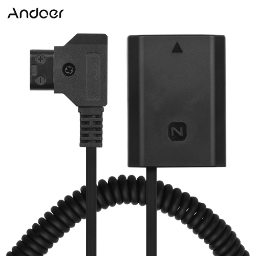 Andoer D-Tap zu NP-FZ100 DC Koppler Adapter
