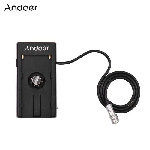 Andoer Camera DV Alimentazione a batteria