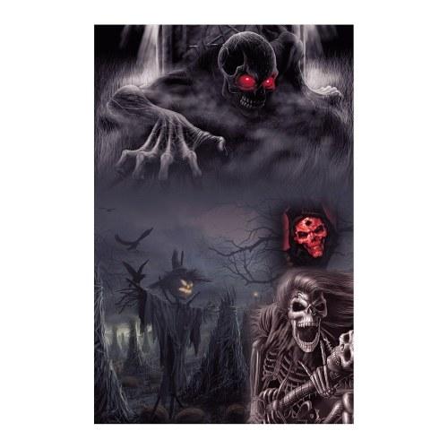 Andoer Halloween Style 1.5*2.1meters / 5*7feet Foldable Vinyl Photography Backdrop Background