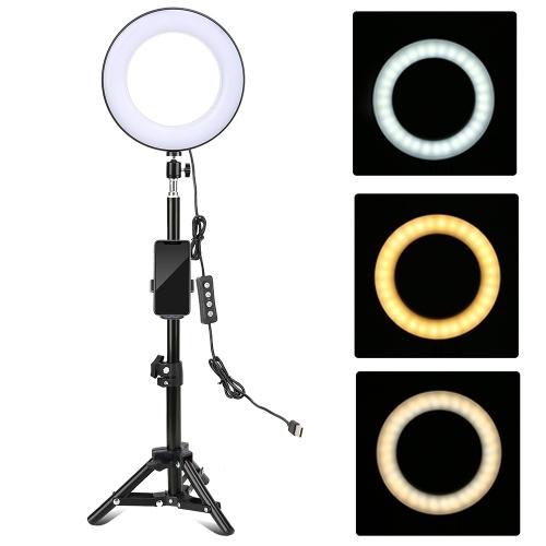 8-дюймовый настольный светодиодный светильник