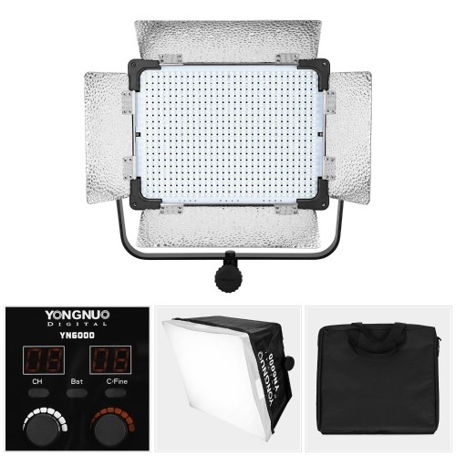 YONGNUO YN6000 Professional 600 LED Video Light