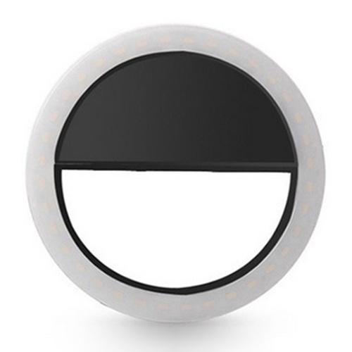 Tragbarer Selfie L-ED Lichtring Füllen Sie den Kamerablitz für das Handy Universal