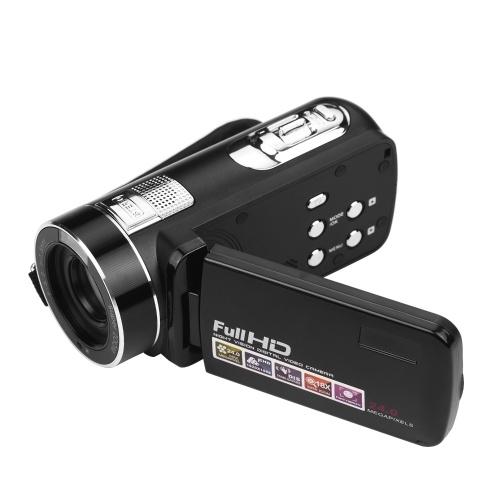 Videocamera digitale Videoregistratore Fulll HD 1080P 24MP Videocamera Vlog