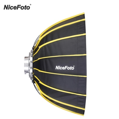 NiceFoto 60cm Tragbare, hexagonale Softbox mit schneller Installation