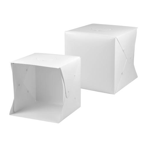 40 * 40 * 40 cm Portable Pliable LED Tente de Lumière Boîte de Tir Photo Softbox Lightbox USB Alimenté