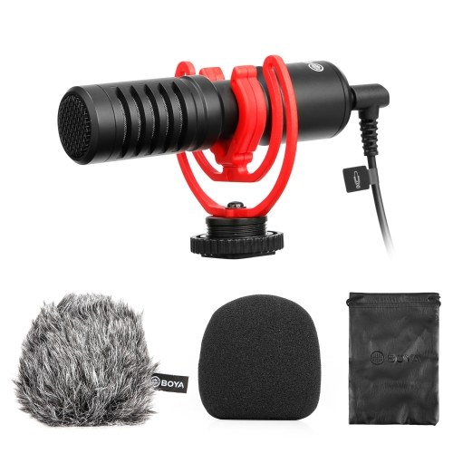 BOYA BY-MM1+ Professional Video Audio Recording Microphone